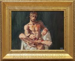 Robert C. Rore, Jahresausstellung, Galerie Kunstbehandlung München zum Oktoberfest 2009: Die Stunden des Fauns