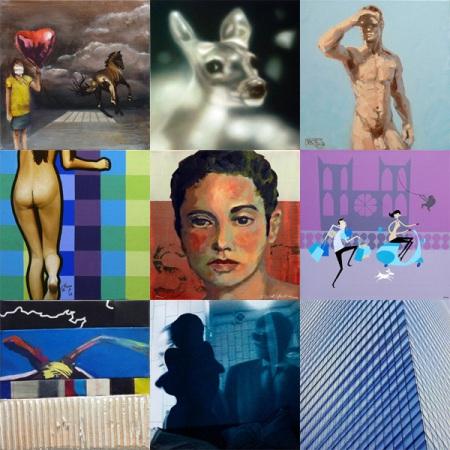 Gruppenausstellung 30×30 No.7 in der Galerie Kunstbehandlung München