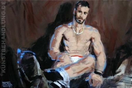 Jahresausstellung 2010 von Robert C. Rore in der Kunstbehandlung