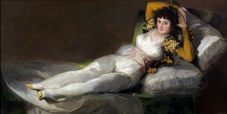 Francisco de Goya: Die bekleidete Maja, um 1800–03, Museo del Prado