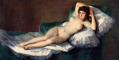 Francisco de Goya: Die nackte Maja, um 1800–03, Museo del Prado