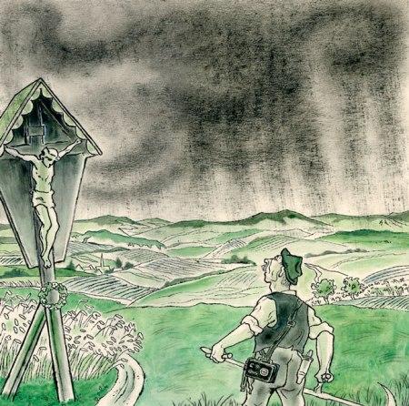 """Josef Sauer: """"Die Wolke"""" (1956)"""