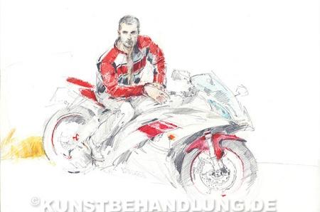 Robert C. Rore: Motorradfahrer