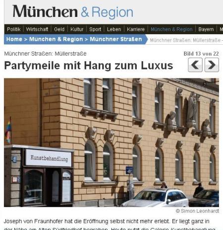 """Müllerstraße: """"Partymeile mit Hang zum Luxus"""""""