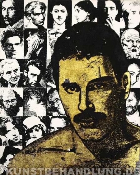 Rinaldo Hopf - Golden Queers - Freddie Mercury