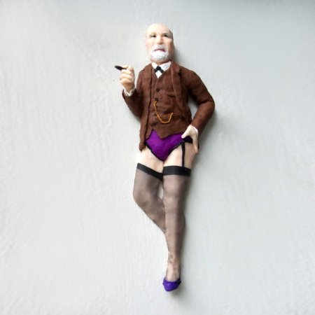 Sigmund Freud-Halbrelief