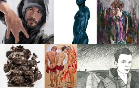 The Male Figure, Kunstbehandlung