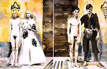 Hommage an Pasolini von Rinaldo Hopf