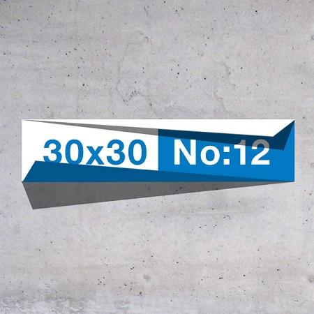 30x30 No:12