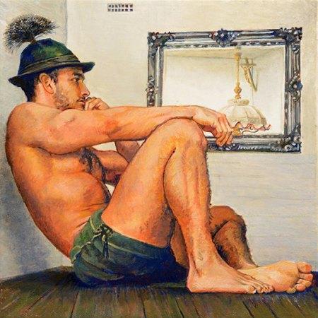 Werk von Kurt Walters in der Kunstbehandlung