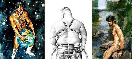 The Male Figure - Kunstbehandlung
