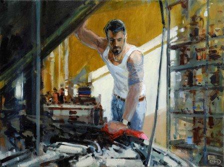 Robert C. Rore: Die Werkstatt