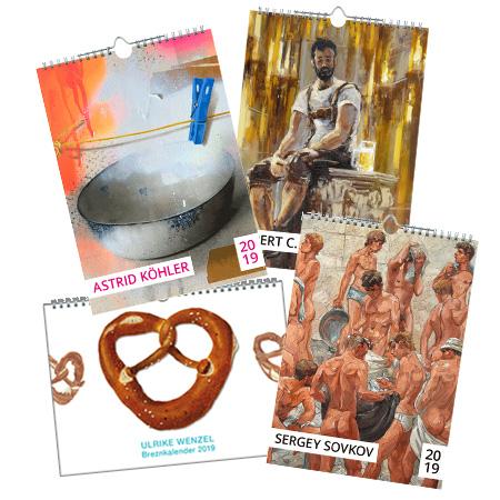 Kunstbehandlung Kalender 2019