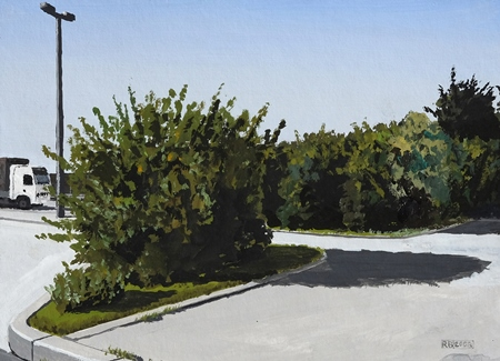 Werk von Robert Brinkschulte in der Kunstbehandlung