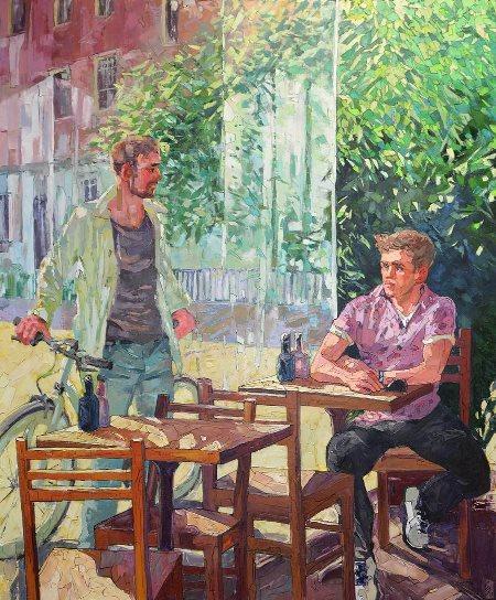 Werk von Sergey Sovkov, Kunstbehandlung