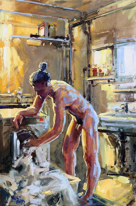 Werk von Robert C. Rore, Jahresausstellung in der Kunstbehandlung