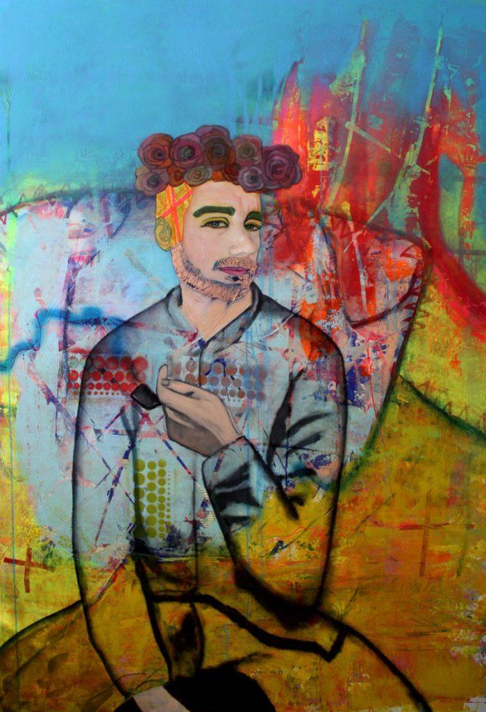 """Maya Muth """"Pablo"""" Kunstbehandlung München"""