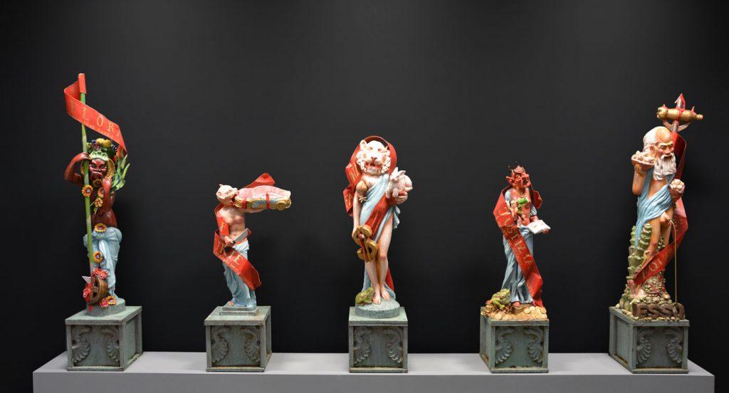 Werke von Nikolaus Keller in der Kunstbehandlung