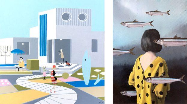 Fotomontage mit je einem Bild von Daniela Kohl und Astrid Köhler