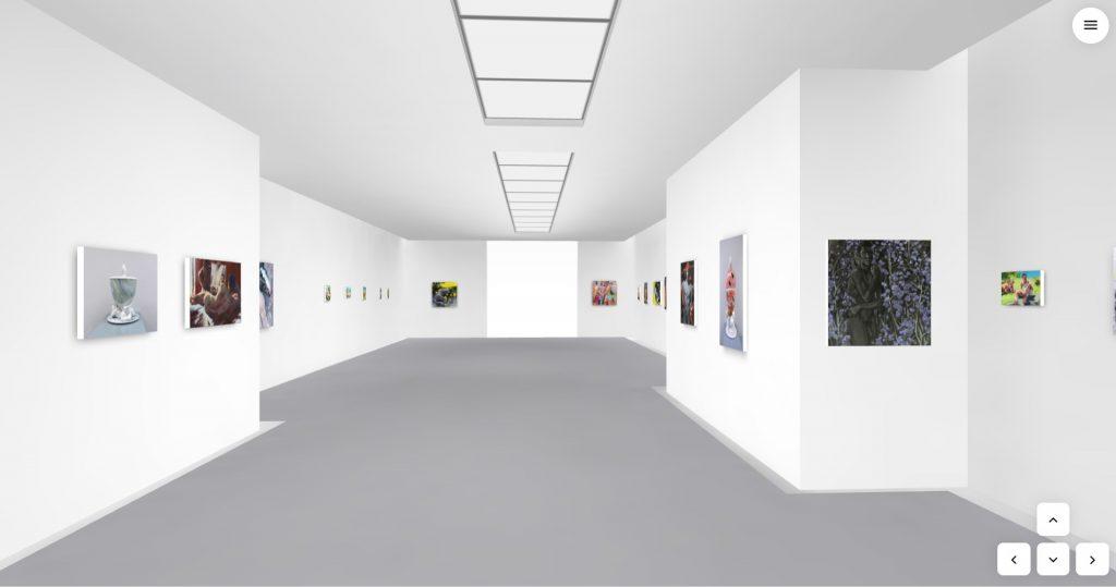 Kunstbehandlung Ausstellungsraum - virtuelle Ausstellung